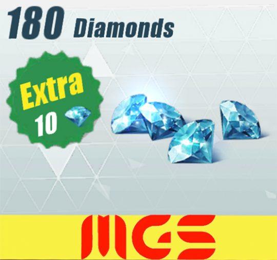 خرید ۱۸۰ الماس بازی Rules Of Surevival