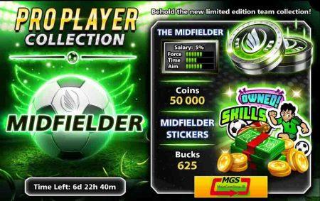 ایونت Pro Player (شامل ۶۲۵ دلار، ۵۰ هزار سکه، مهره و استیکر ویژه)
