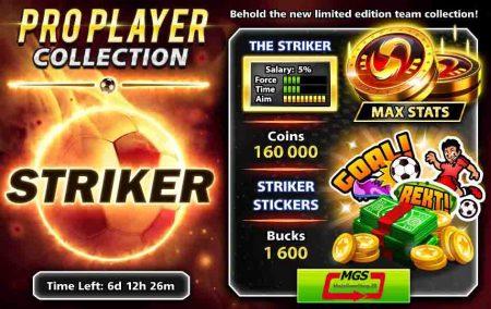 ایونت Pro Player (شامل ۱۶۰۰ دلار، ۱۶۰ هزار سکه، مهره و استیکر ویژه)