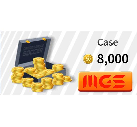 خرید بسته Case ۸۰۰۰ سکه بازی Dream League Soccer 2019