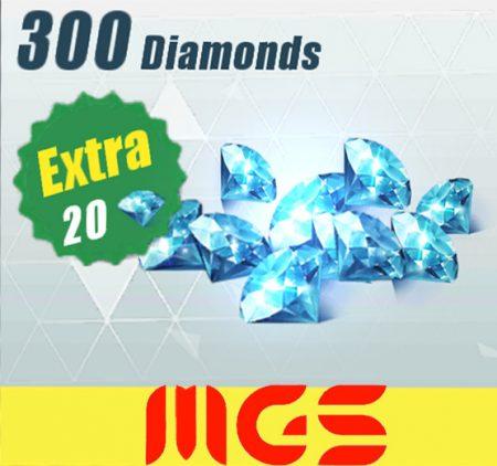 خرید ۳۰۰ الماس بازی Rules Of Surevival