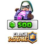 بسته ۵۰۰ تایی جم Clash Royale
