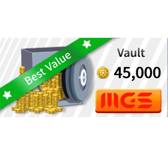خرید بسته Vault ۴۵۰۰۰ سکه بازی Dream League Soccer 2019
