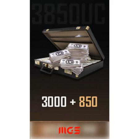 """خرید ۸۰۰+UC ۳۰۰۰ بازی Pubg Mobile + هدیه """"۱۶۰ UC"""""""