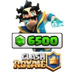 بسته ۶۵۰۰ تایی جم Clash Royale