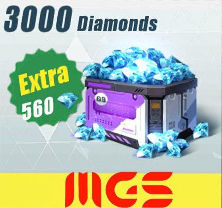 خرید ۳۰۰۰ الماس بازی Rules Of Surevival