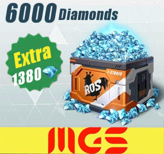 خرید ۶۰۰۰ الماس بازی Rules Of Surevival
