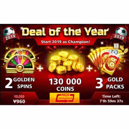 ایونت Deal of the Year (شامل ۳ گلدپک، ۲ اسپین و ۱۳۰ هزار سکه)