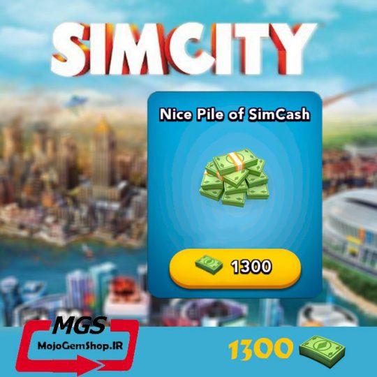 بسته ۱۳۰۰ دلار بازی Simcity