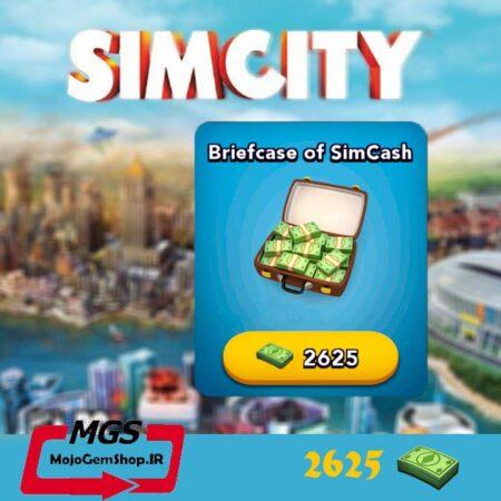 بسته ۲۶۲۵ دلار بازی Simcity