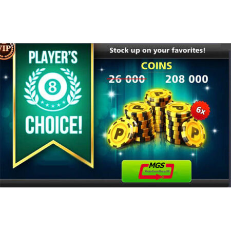 ایونت PLAYERS CHOICE  (شامل ۲۰۸،۰۰۰ سکه)