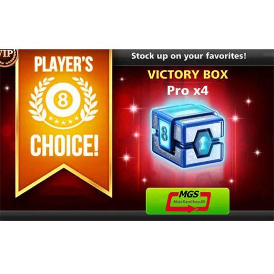 ایونت PLAYERS CHOICE (شامل ۴ VICTORY BOX PRO)