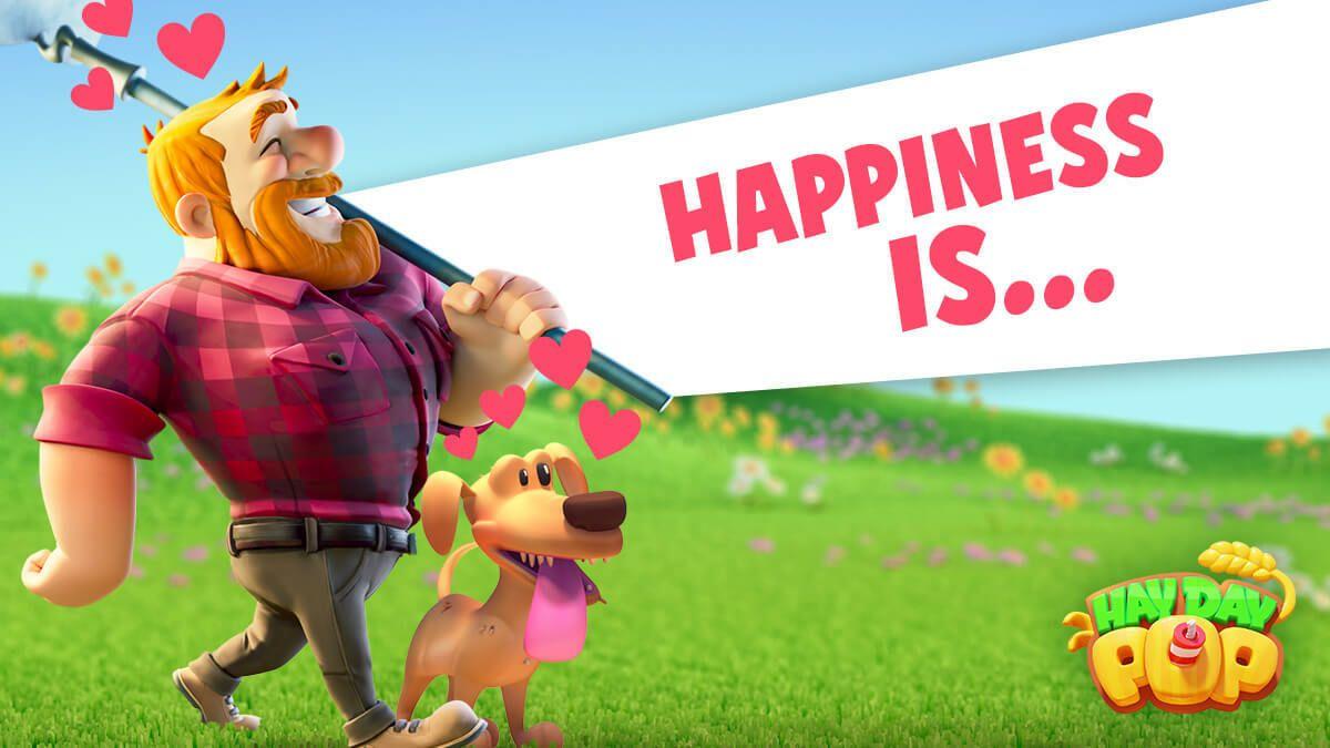 بازی هیدیپاپ و معرفی و نگاه اولیه به این بازی جدید Hay Day Pop