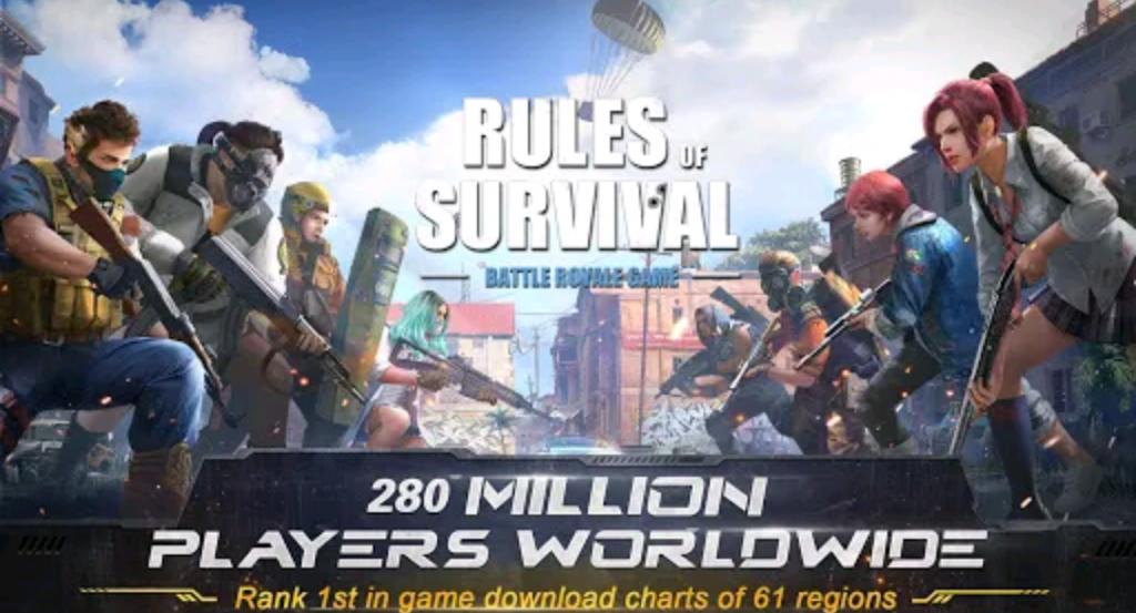 بازی Rules of Survival