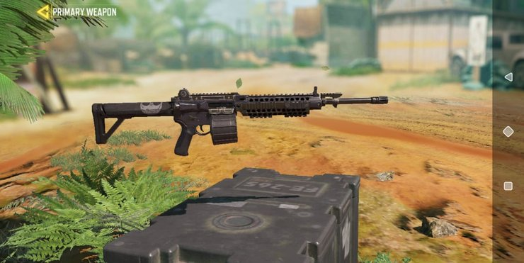 سلاح M4LMG کالاف دیوتی