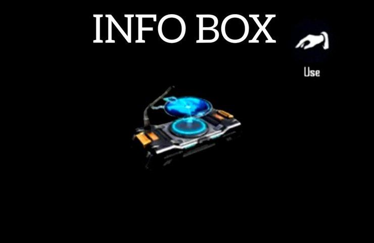 آیتم info box در بازی فری فایر