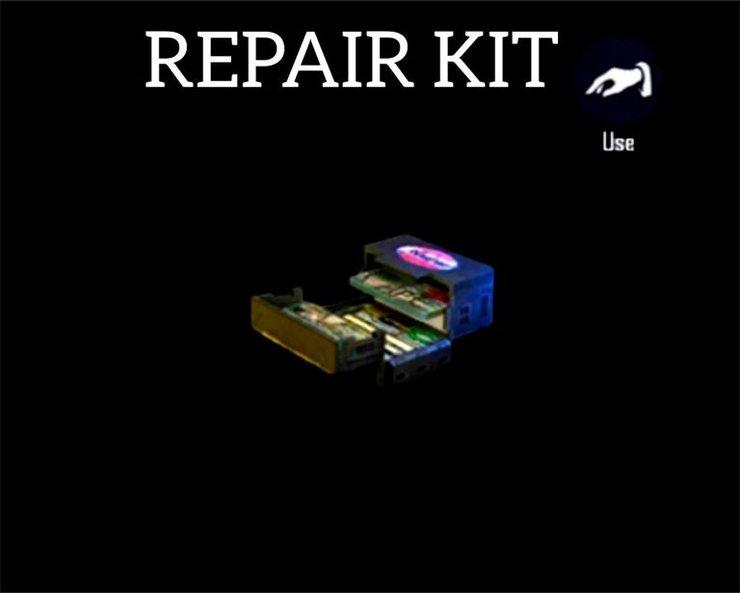 آیتم repair kit در نقشه های بازی فری فایر
