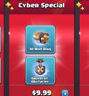 ایونت 9.99 دلاری Cyber Special بازی کلش اف کلنز