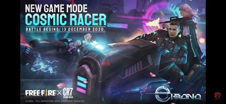 حالت بازی Cosmic Racer فری فایر