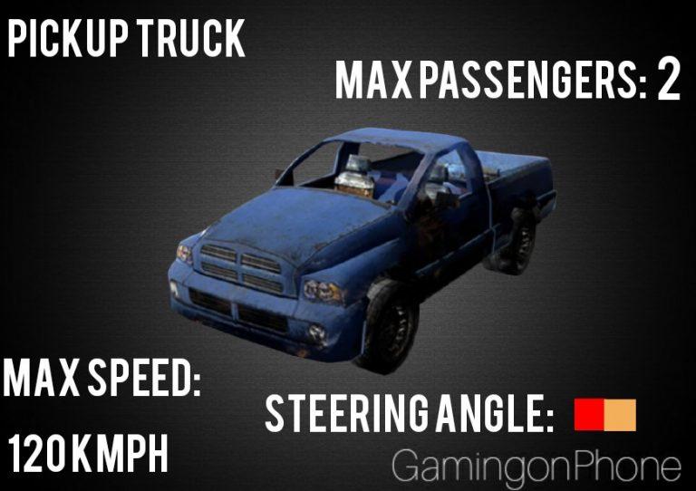 وسایل نقلیه در بازی فری فایر
