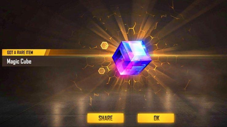 Magic Cube در فری فایر
