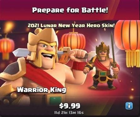 ایونت Prepare for Battle بازی کلش اف کلنز
