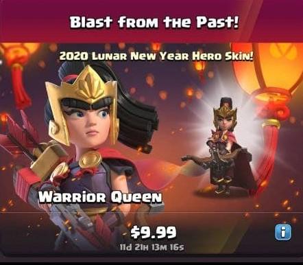 ایونت Blast From The Past بازی کلش اف کلنز