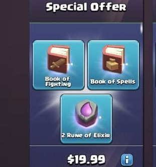 ایونت 19.99 دلاری Special Offer بازی کلش اف کلنز