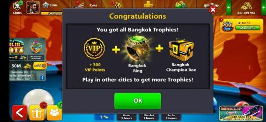 انگشتر بانکوک 8 بال پول +حداقل 30 میلیون سکه