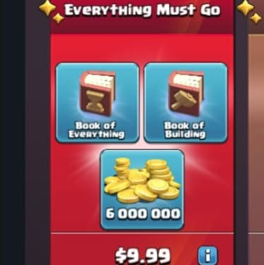 ایونت 9.99 دلاری Everything Must Go بازی کلش اف کلنز