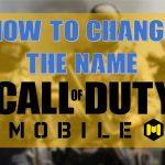 آموزش تغییر نام، ایمیل و گذرواژه در بازی کالاف دیوتی موبایل