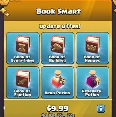 ایونت 9.99 دلاری Book Smart کلش اف کلنز