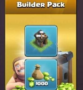 ایونت 4.99 دلاری Builder Pack بازی کلش اف کلنز