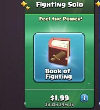 ایونت 1.99 دلاری Fighting Solo کلش اف کلنز