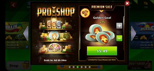ایونت 5.49 دلاری Pro Shop ساکر استارز