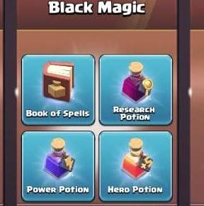 ایونت 6.99 دلاری Black Magic کلش اف کلنز
