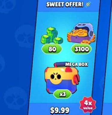 ایونت 9.99 دلاری Sweet OFFER براول استارز