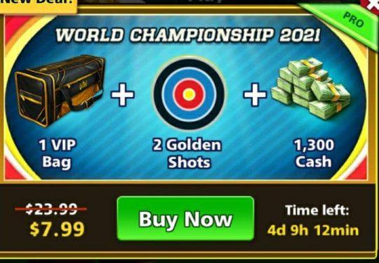 ایونت 7.99 دلاری World Championship 2021 فوتبال استریک